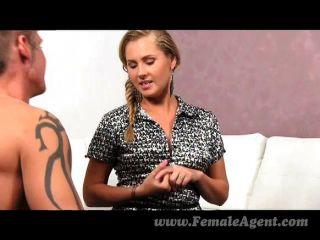 Femaleagent - Shy Stud Needs Help From Agent