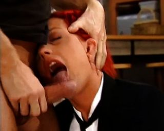 Rough Anal For Sexy Redhead