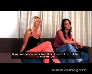 Casting Two Girls Make Me Cum Quick