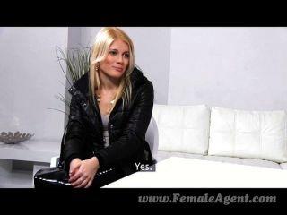 Femaleagent - Stunning Blonde Passed Around