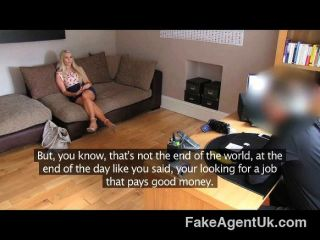 Fakeagentuk - South African Blonde Babe