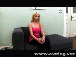 Feisty Blonde Amateur Fucks In Casting