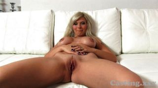 Castingxxx Stunning Blonde Babe In Interview