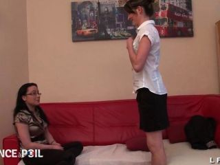 Ffm First Time Anal For Young French Brunette