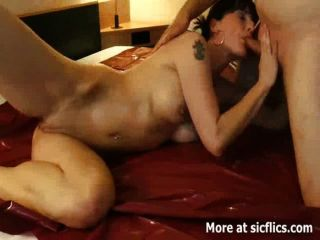 Hot Brunette Fisted To A Wild Orgasm