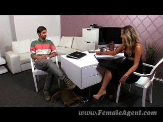 Femaleagent - Milf Agent Works Up An Appetite