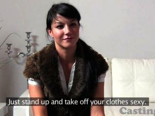 Castingxxx Fashion Model Swallows Spunk