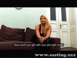 Horny Blonde Pounded In Casting Interview