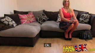 Fakeagentuk - Sexy Blonde Milf Loves Anal