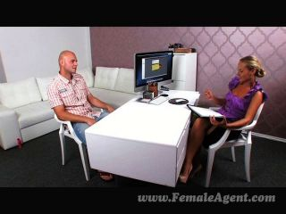 Casting Agent Fucked Good And Hard
