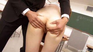 Sakamoto Hikari Teases Her Teacher