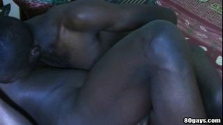 Horny Dude Takes Black Cock