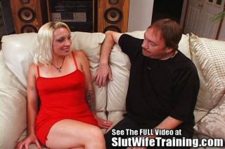 Foreighn Blonde Trained To Fuck!