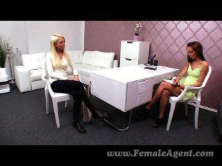 Femaleagent - Seriously Sexy Shy Blonde