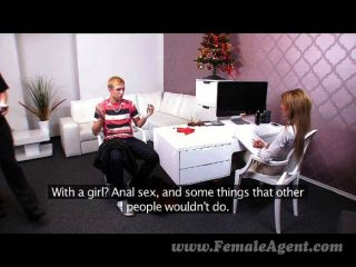 Femaleagent - Stud Dominated Into Pegging