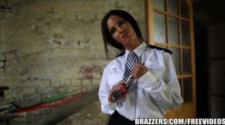 Brazzers - Sexy Cop Elicia Solis Sucks Dick