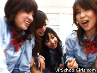 Asian Schoolgirls Are Having A Massive