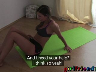 Girlfriends - Do Yoga Then Get Horny