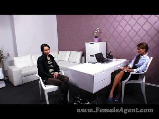 Femaleagent - Agent Dominates Slim Beauty