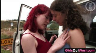 Girls Out West - Hairy Lesbian Cunts