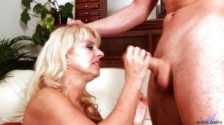 Nice Mom Sucks And Fucks Hard Cock