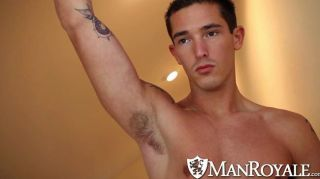 Manroyale Stud Caught Taking Naked Pics