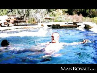 Manroyale - Twinks Get Wet Fucking By The Pool