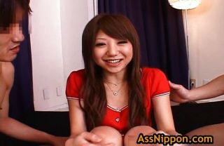 Ana Oshirino In Horny Asian Threesome