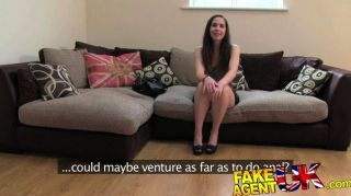 Fakeagentuk - Deep Throating And Creampie