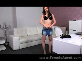 Femaleagent -  Gorgeous Woman Gets Agent Wet