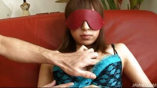 Japanese Yuu Blindfolded And Fingered