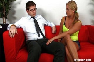 Topless Teen Handjob