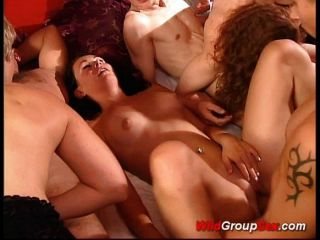 Wild Group Sex So Many People Fucking And Suc