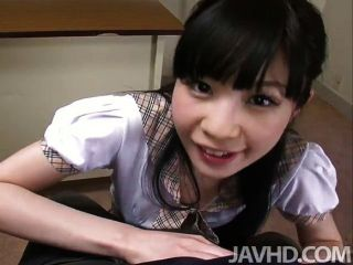 Teen Mizutama Remon At School Giving Her Prin