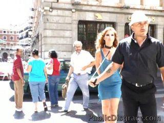 Euro Girl Takes Dick In Public