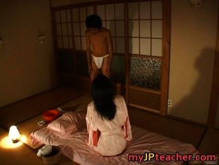 Hot Japanese Teacher Enjoys Fucking