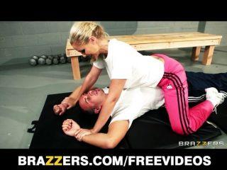 Dominant Blonde Trainer Julia Ann