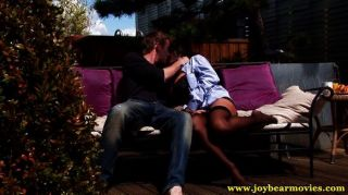 Mature Lady Fucked In The Garden