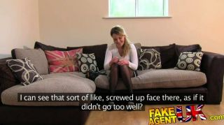 Fakeagentuk - Deepthroat Fucking And Creampie