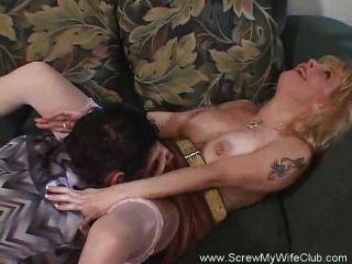 Sexy Hot Wife Swinger Sex