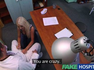 Fakehospital - Doctors Sexy Blonde Ovulating
