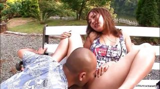 Shy Aika In The Park Naked Then Fucked