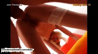 Hot Skinny Blonde Getting Banged