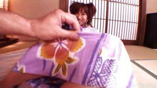 Japanese Slut Serina Rides A Hard Stiff Cock