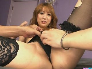 Pretty And Horny Redhead Asian Babe Yuki Mizu