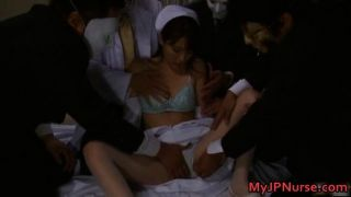 Cute Asian Babe Is A Nurse Having Sex