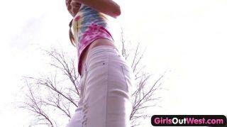 Girlsoutwest - Cute Young Lesbians Make Love