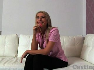 Castingxxx Skinny Blonde Amateur Jizzed On