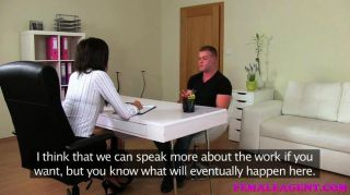 Femaleagent - Stud Makes His Intentions Clear