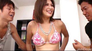 Mai Kuroki Teases The Boys Then Gets Creampied